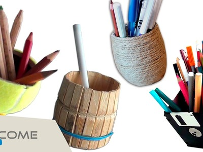 Manualità creativa - portapenne DIY