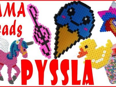 Le mie creazioni in Pyssla-Hama Beads (NUOVA ❤ VERSIONE) Review.Recensione