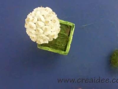 Alberello fiorito - Tutorial DIY di Creaidee
