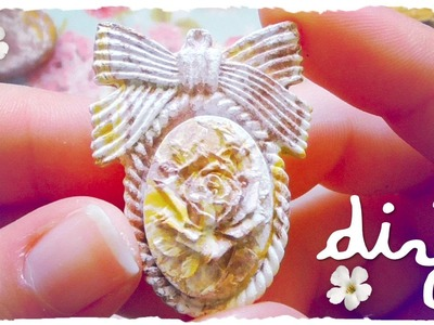 Tutorial: Decorazioni Shabby Chic in DAS | DIY Mini Decorations