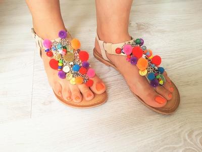 DIY  sandali estivi Elina Linardaki