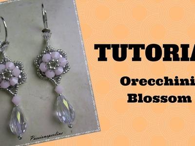 DIY - TUTORIAL Orecchini Blossom (per principianti)