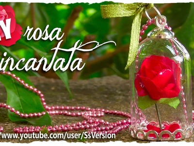Tutorial: Rosa Incantata | DIY Miniature Enchanted Rose ♥ the Beauty and the Beast