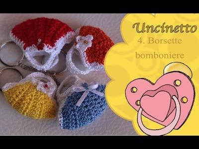 Uncinetto bimbi 4: borsetta bomboniera