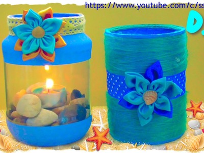 Tutorial: Lanterne e Barattoli Estivi | DIY Summer Lantern and Jar | Collab. FairyFashion Art