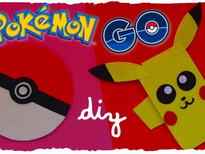 Tutorial: Pikachu e Pokeball Astuccio in Feltro | DIY Pokémon Go Inspired Felt Case