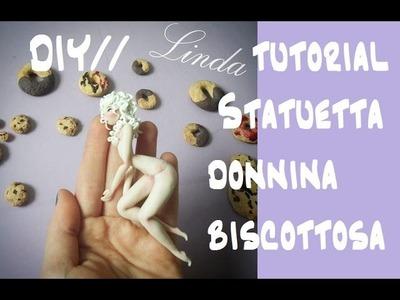Tutorial.Statuetta Donnina Biscottosa. DIY
