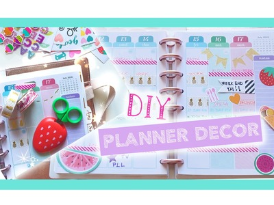 #Plan with me DIY: Agenda setup e Tasca multiuso