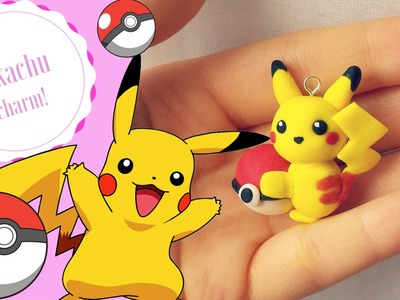 Polymer Clay Tutorial: Easy Pikachu charm!