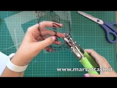 Shrink plastic (polyshrink) tutorial italiano.