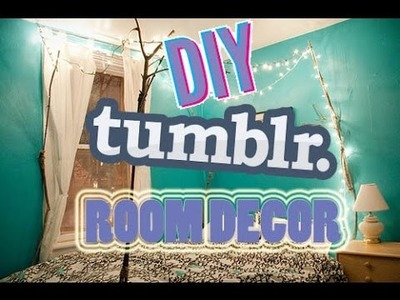 DIY TUMBLR ROOM DECOR | #UsaPulse ~Decorazioni per la camera~