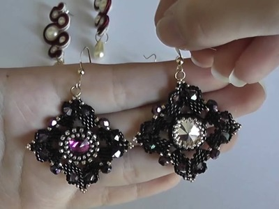 VIDEO CREAZIONI #4 (Soutache, tessitura, bead embroidery e bead crochet)