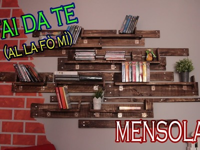 ***FAI DA TE*** Mensola con Bancali (tutorial) #RECUPERO #ZEROSPRECO  shelf with bench