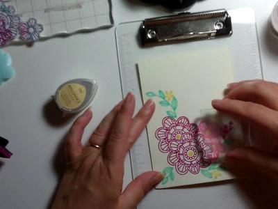 Tecnica Mascheramento (card)- Scrapbooking Tutorial | Scrapmary