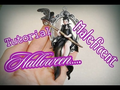 DIY.TUTORIAL.  Maleficent Polimerclay