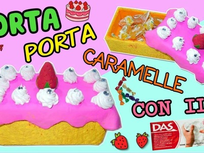 TORTA PORTA CARAMELLE con il DAS (DIY ROOM DECOR) Iolanda Sweets