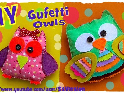 Tutorial: Gufi Profumati in Feltro | DIY Scented Felt Owls | Collab. Fiore Creations