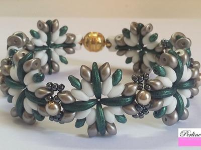 Bracciale Desert Collaborazione con Perline e Gioielli (DIY Tutorial Desert Bracelet)