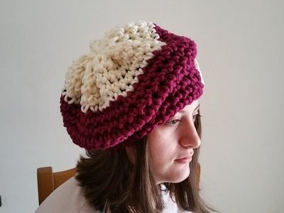 Cappello UNCINETTO  lana.CROCHET HAT