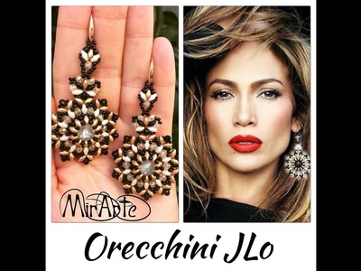 DIY Tutoria orecchini JLo (Jennifer Lopez)