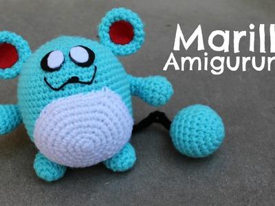 Pokemon Marill Amigurumi | World Of Amigurumi