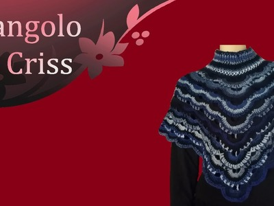 "Poncho coprispalle all'uncinetto ""Peacock tail"" - tutorial passo a passo"