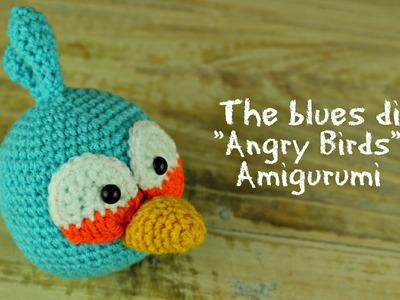 "The Blues di ""Angry Birds"" Amigurumi | World Of Amigurumi"
