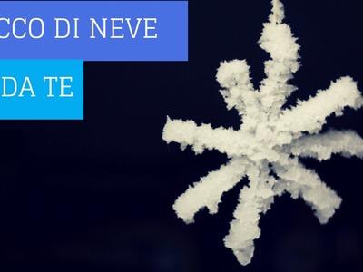 Esperimento di chimica con meno di 5 euro: come fare neve finta in casa