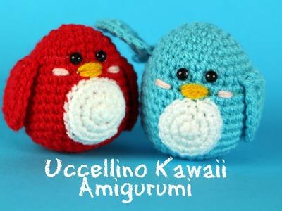 Uccellino Kawaii Amigurumi | World Of Amigurumi