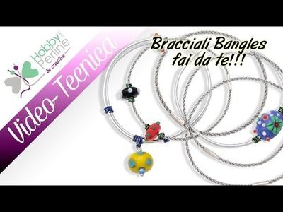 Bracciali Bangles fai da te | TECNICA - HobbyPerline.com