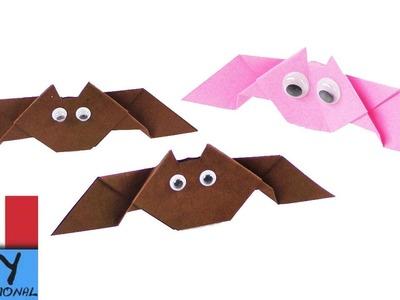 Pipistrelli fai da te | idee per decorazioni di Halloween | 3D | facili istruzioni per bambini