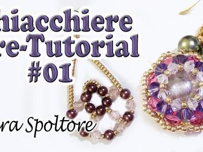 Sarubbest - Chiacchiere pre-tutorial #01  - Orecchini fai da te con perline