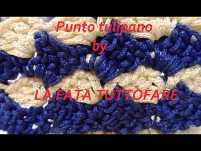 Tutorial: punto tulipano bicolor in linea