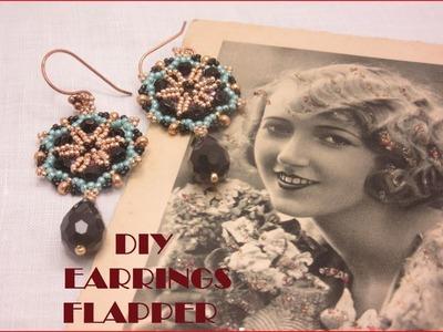 Tutorial orecchini stile flapper