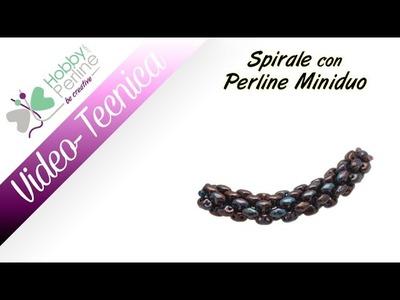 Spirale con Perline Miniduo   TECNICA - HobbyPerline.com