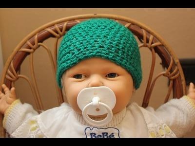 Cuffietta per neonato all'uncinetto - Costume tartaruga 3° e ultima parte