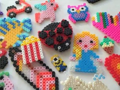 Le mie creazioni Pyssla.Hama Beads #2Parte