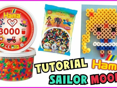 Tutorial HAMA BEADS SAILOR MOON (Perline da stirare)