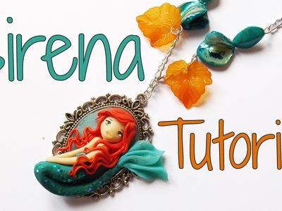 Tutorial Sirena in Fimo