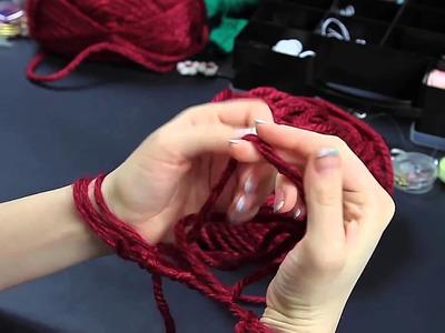 Creare una sciarpa in 30 minuti (a mani nude) versione 2 parte 1