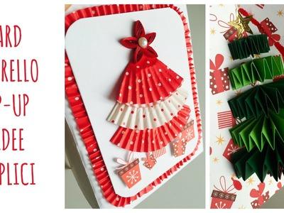 Bigliettino Albero di Natale Pop-up, facilissimo! (riciclo creativo) Arte per Te