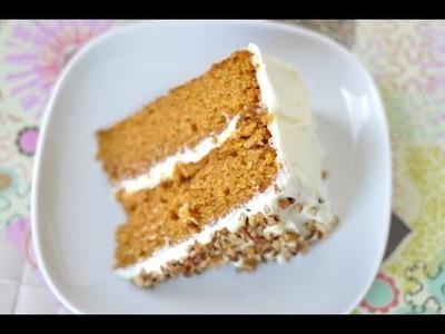 Torta di carote,alta soffice e golosa,Carrot Cake