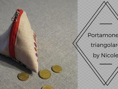 Tutorial-Come realizzare un portamonete triangolare in modo semplice e veloce