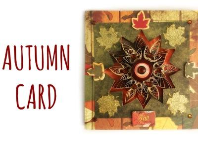 """Autumn Card """"Gemma d'Autunno"""" (Card e Biglietti Scrapbooking) Arte per Te"""