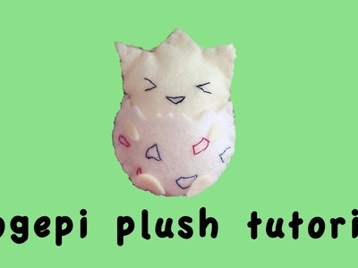 Togepi (pokèmon) plush tutorial