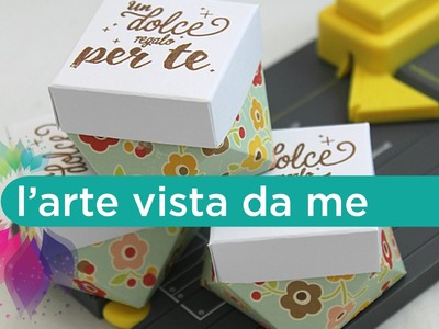 Diamond box con Gift Bag Punch Board We R Memory Keepers- Scatola porta gioielli Fai da te