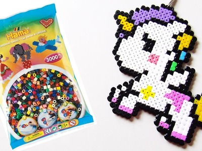 Kawaii Unicorn HAMA BEADS