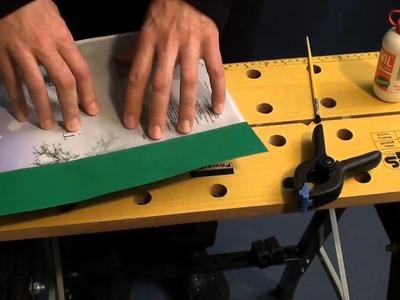 How to bind a book part 2 - Rilegatura di libri facile e veloce 2° parte
