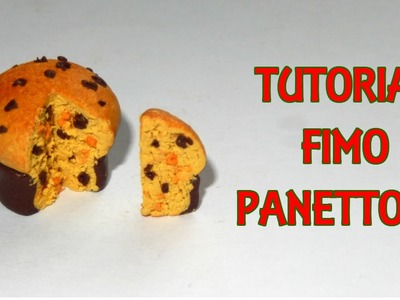 Tutorial Fimo Panettone (polymerclay christmas tutorial) || Iolanda Sweets