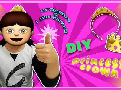 Cr3stina e i Suoi Parenti #1 - DIY Corona con HAMA BEADS.Pyssla Princess Crown Tutorial
